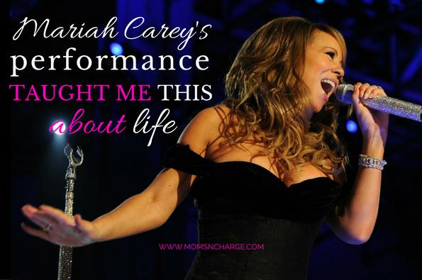 mariah carey new years performance