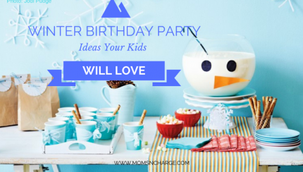 winter birthday party