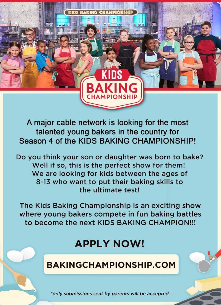 Kid's Baking Championship Food Network