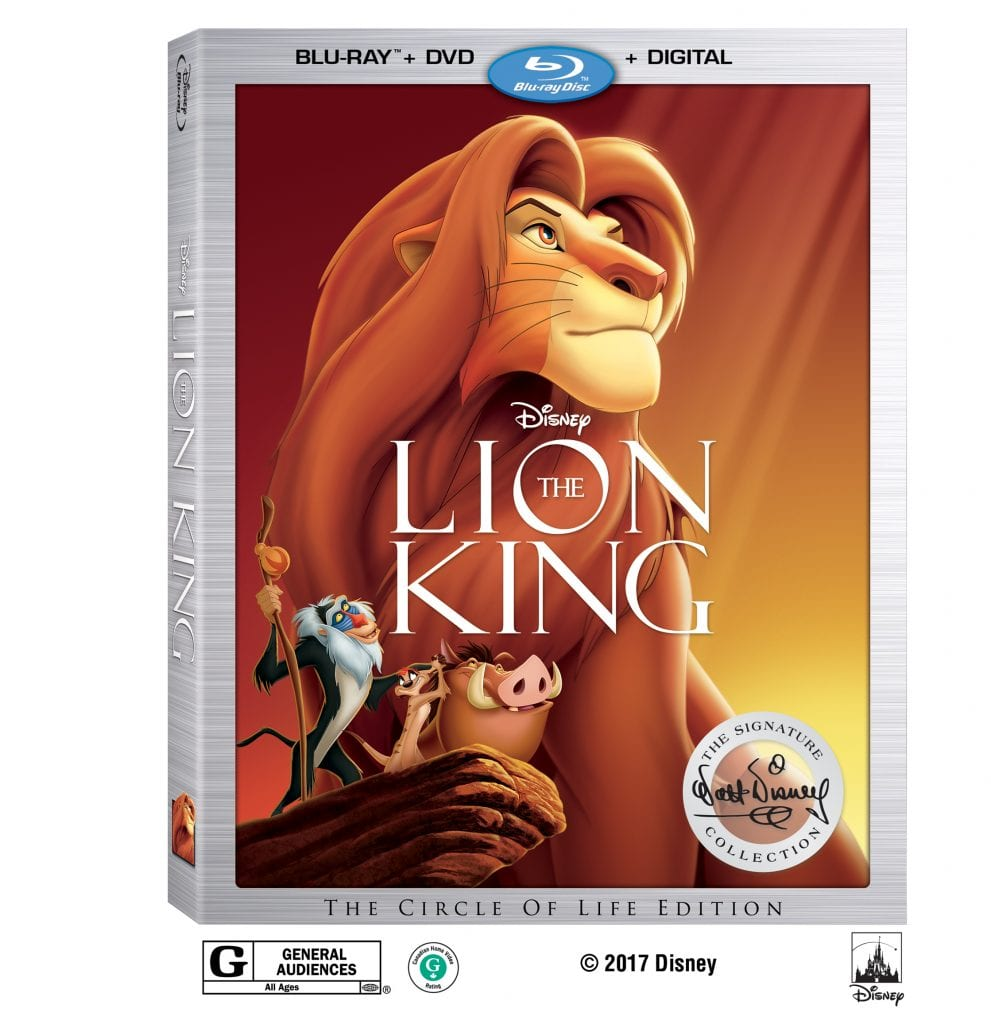 lion king disney signature collection