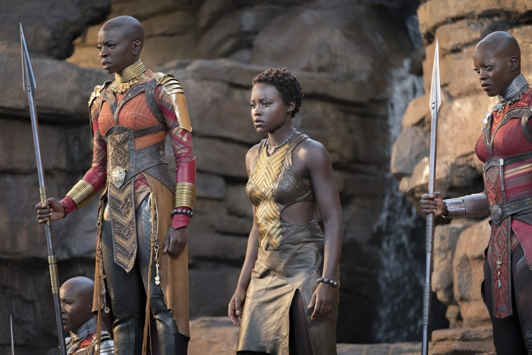 inside black panther interview with lupita nyongo and