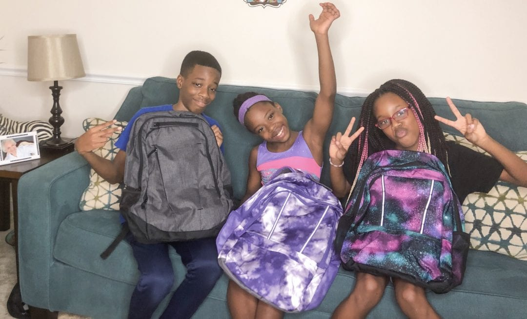 Its time to get ready for another homeschool year, backpacks from LandsEnd