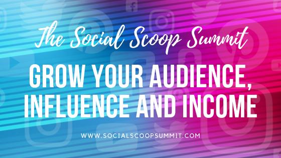 social scoop summit - social media