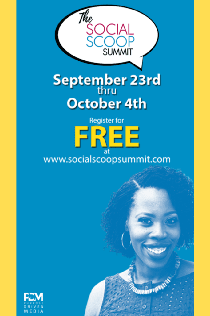 Social Scoop Summit online event