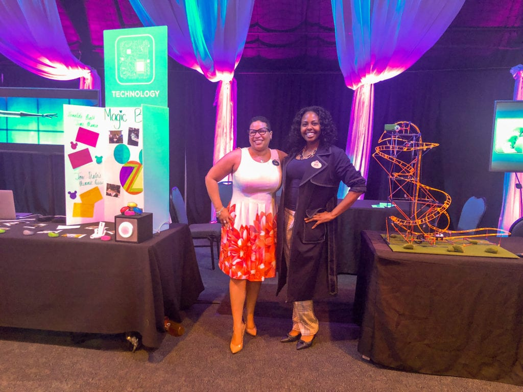 D'Yanna Craighead and Angel Price - disney world STEM
