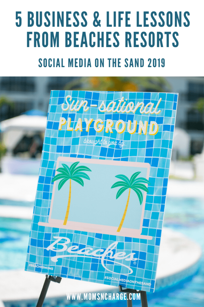 Beaches social media on the sand 2019