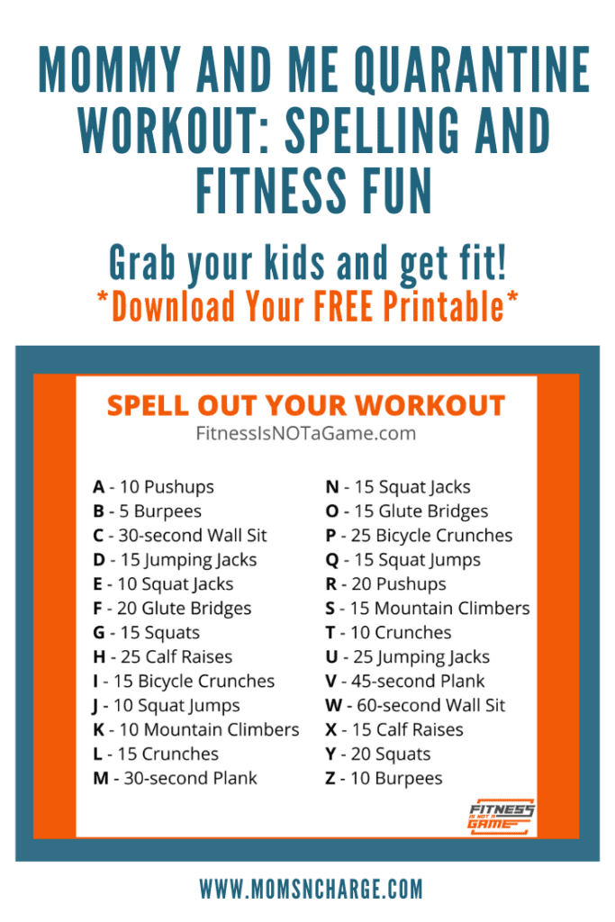 quarantine workout mommy and me fitness